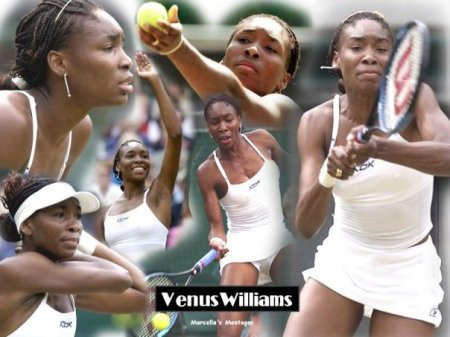 VENUS WILLIAMS,BLACK BEAUTY SUPREME!