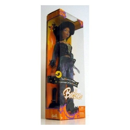 BARBIE HALLWEEN STAR AFRICAN AMERICAN DOLL $16.99 ON AMAZON.COM,UNDER BLACK BARBIE DOLLS,UNDER 'TOYS AND GAMES'