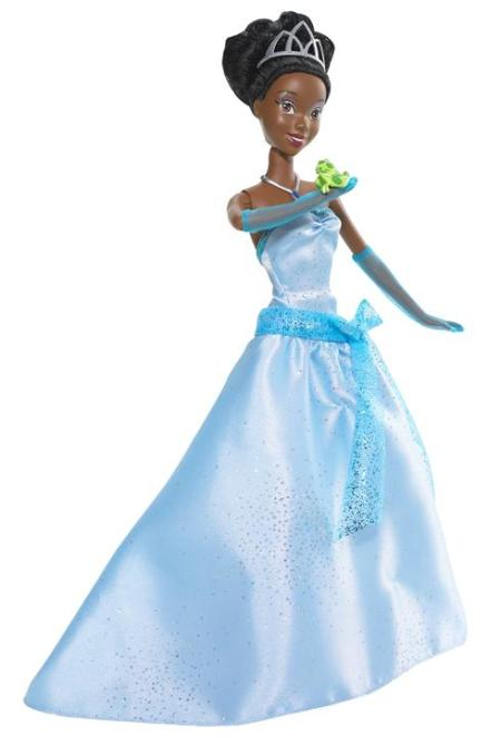 Disney adds African-American Princess Tiana to royal family