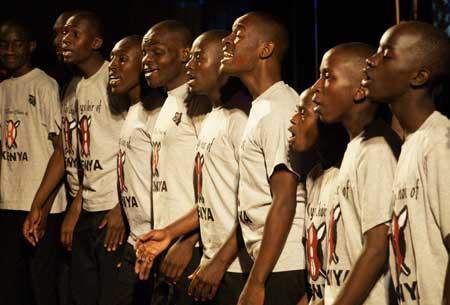 SINGING AT OBAMA'S INAUGURATION!