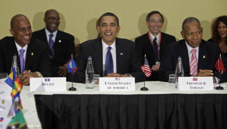 OBAMA WITH OTHER BLACK PRESIDENTS(PRIME MINISTERS) AT THE SUMMIT