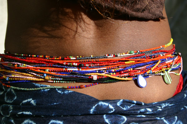 Image result for A MUST READ!Why Nigerian men (should) run away from ladies that use waistbeads