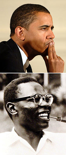 OBAMA'S FATHER (SENIOR) AND OBAMA(JR.) COMPARED