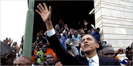 2006 visit to Kenya