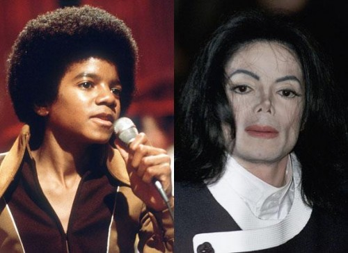 BLEACH AND BE A MONSTER LIKE MICHAEL JACKSON!