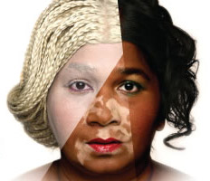 bleaching skin semblance