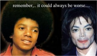 MICHAEL JACKSON BLEACHED UNTIL HE GOT A SKIN DISEASE! IT WAS REPORTED BEFORE HE DIED THAT HE HAD SKIN CANCER FINALLY AND THAT IS DEATH TOO! DON'T BLEACH BLACK PEOPLE,DON'T BLEACH! BLEACH AND DIE!