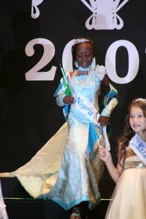 "BLACK SKINNED BEAUTY WENDY KASUMU WINS ""LITTLE MISS WORLD MODEL 2007"""