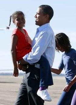 MALIA OBAMA-A BLACK BEAUTY IN HER OWN RIGHT-PROUDLY WEARS HER AFRICAN ...