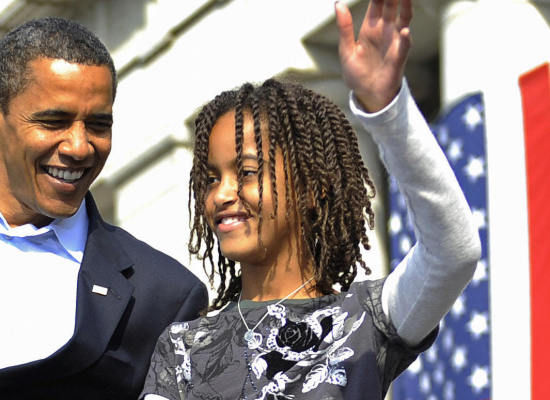 malia obamaa black beauty in her own rightproudly wears