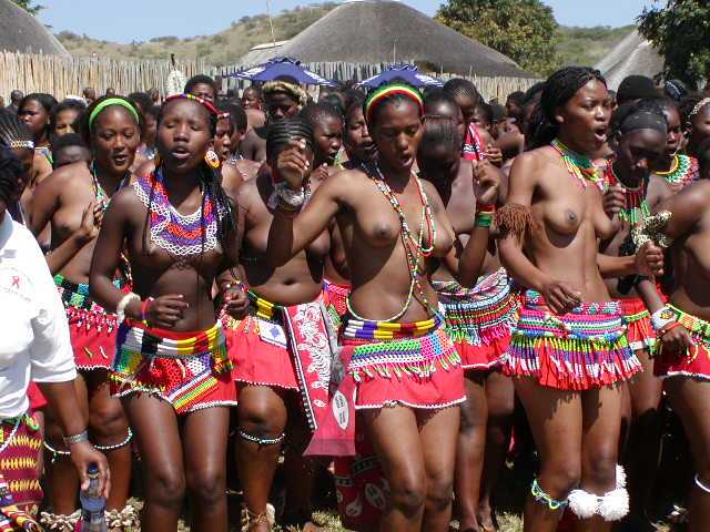 Zulu Women Are Proud Wearers Of Waist Belts Beaded To Perfection