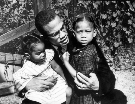 Malcolm X  & His Daughters