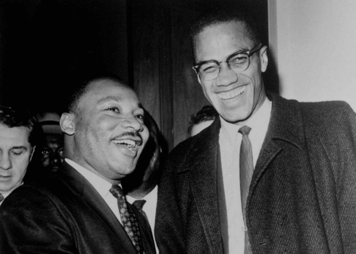 The influence of martin luther king jr and malcolm x on black americans